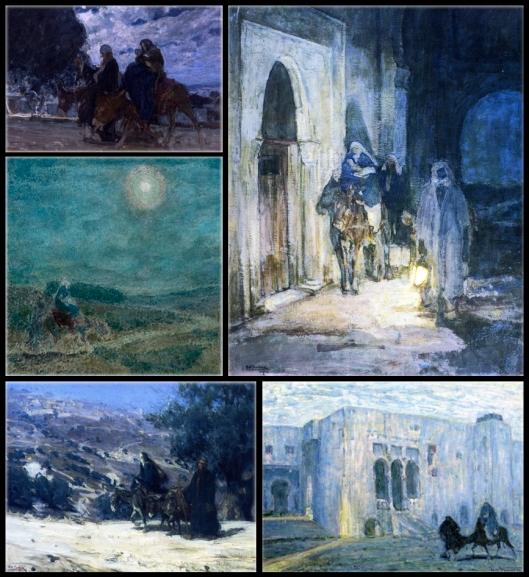 1899-1923-huida-a-egipto-henry-ossawa-tanner-